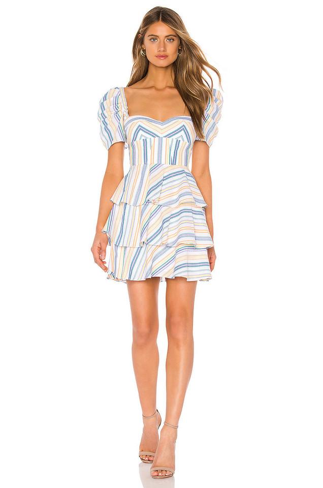 Amanda Uprichard Viceroy Dress in blue