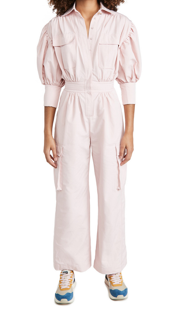 Aje Oneness Jumpsuit in pink