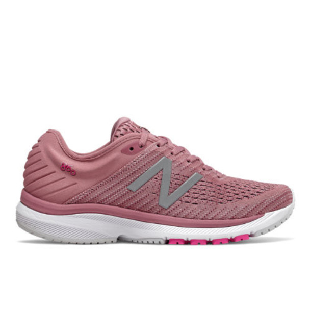New Balance 860v10 Women's Stability Shoes - Red/Purple/Pink (W860A10)