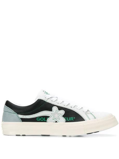 Converse Le Fleur low-top sneakers in black