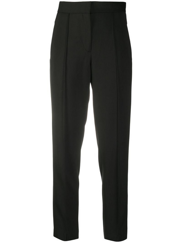 A.P.C. slim-fit cropped trousers in black