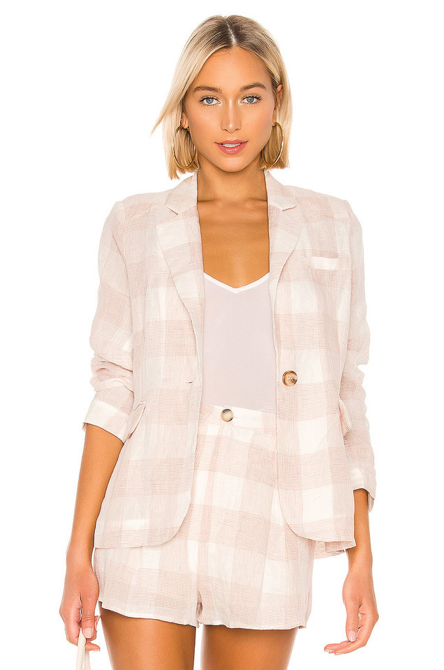 HEARTLOOM Asher Blazer in blush