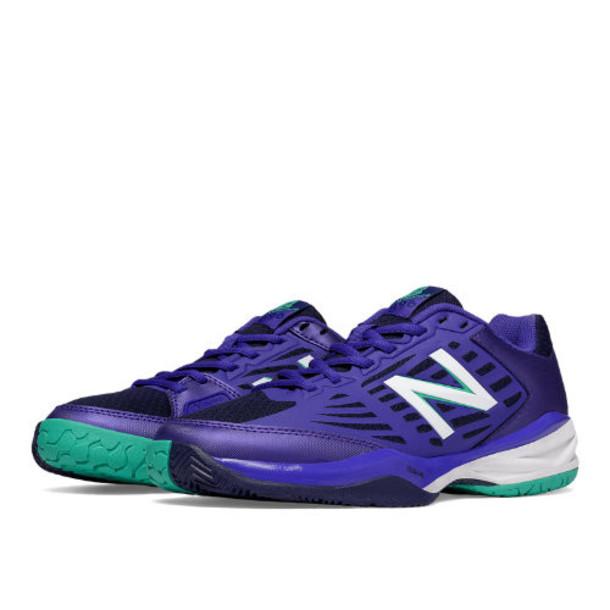 New Balance 896 Women's Tennis Shoes - Purple/Green (WC896PT1)