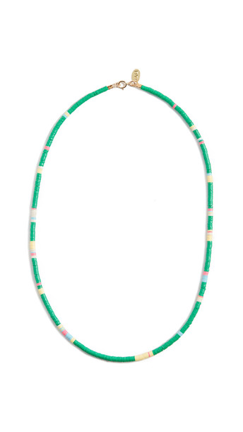 Maison Monik Green & Multi Necklace