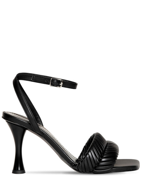 PROENZA SCHOULER 90mm Faux Leather Sandals in black