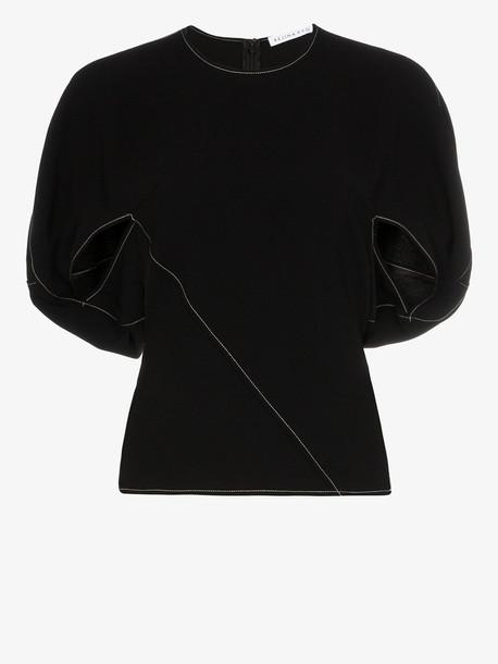 Rejina Pyo marcie pouf shoulder top in black