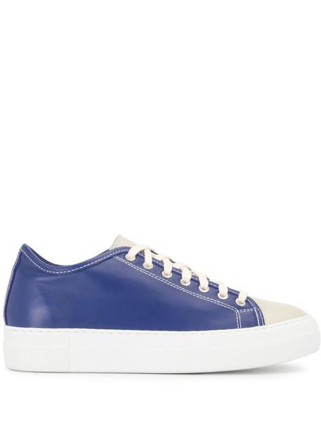 Sofie D'hoore platform sole sneakers in blue