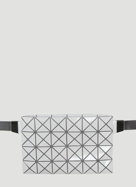 Bao Bao Issey Miyake Shiny Waist Bag in White size One Size