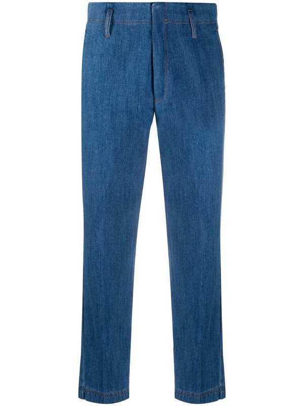 Forte Forte straight-leg jeans in blue