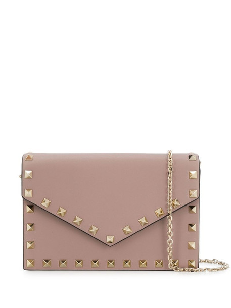Valentino Garavani Rockstud crossbody bag in grey