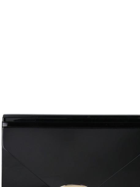 Michael Kors Barbara Box Clutch in black