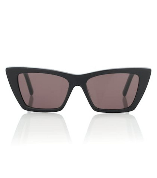 Saint Laurent New Wave 276 cat-eye sunglasses in black