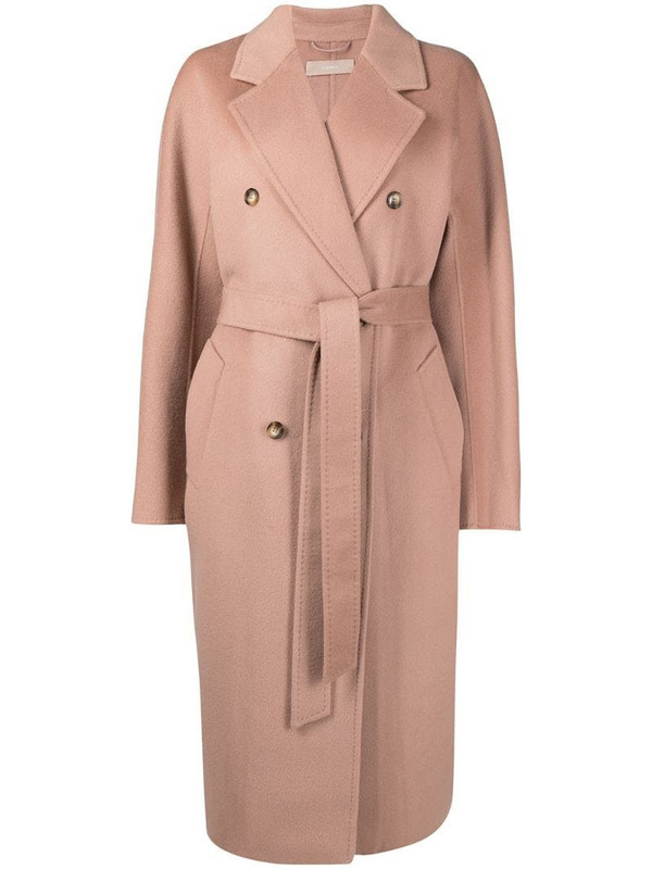 12 STOREEZ oversized double-breasted wool coat in neutrals