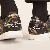 sneakers,black sneakers,shoes,floral