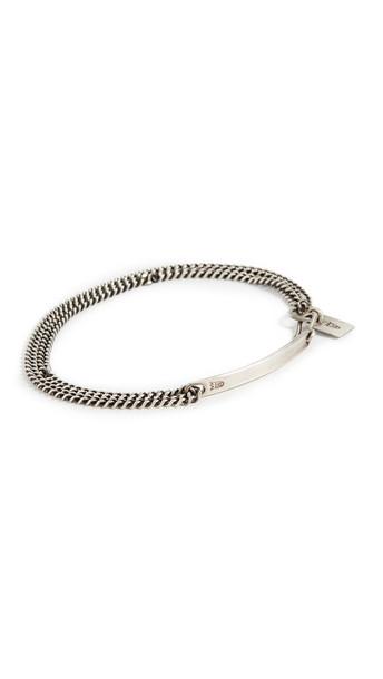 Scosha Mini ID Bracelet in silver