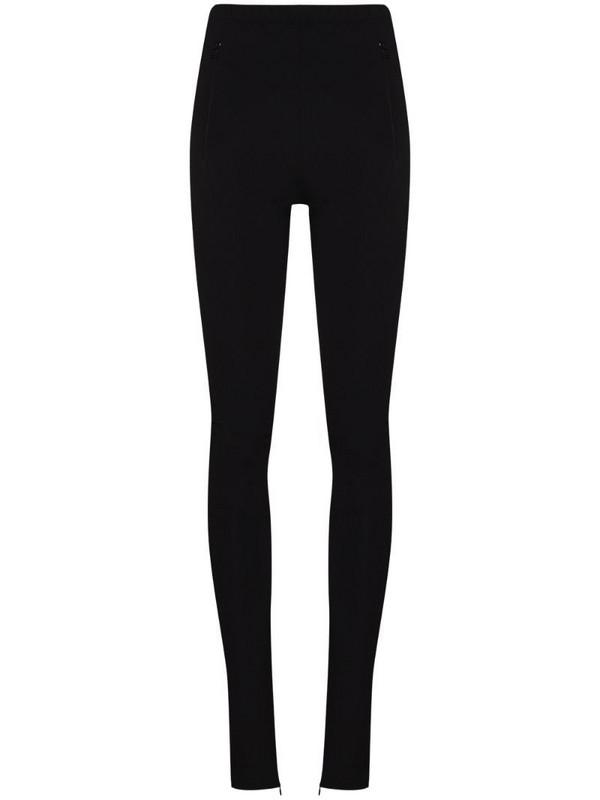 WARDROBE.NYC x Browns 50 side-split leggings in black