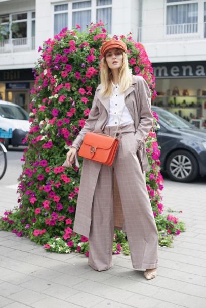 pants women's suit suit streetstyle streetwear london fashion vibe model off-duty