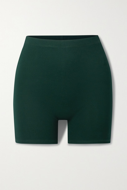 LESET - Rio Stretch-jersey Shorts - Green