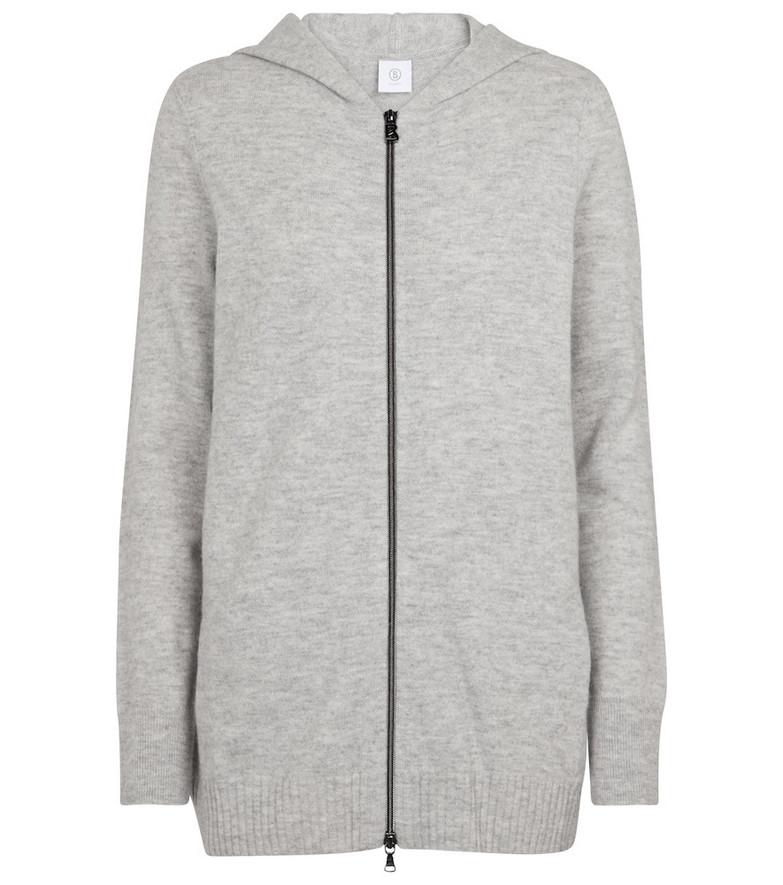 BOGNER Leony virgin wool hoodie in grey