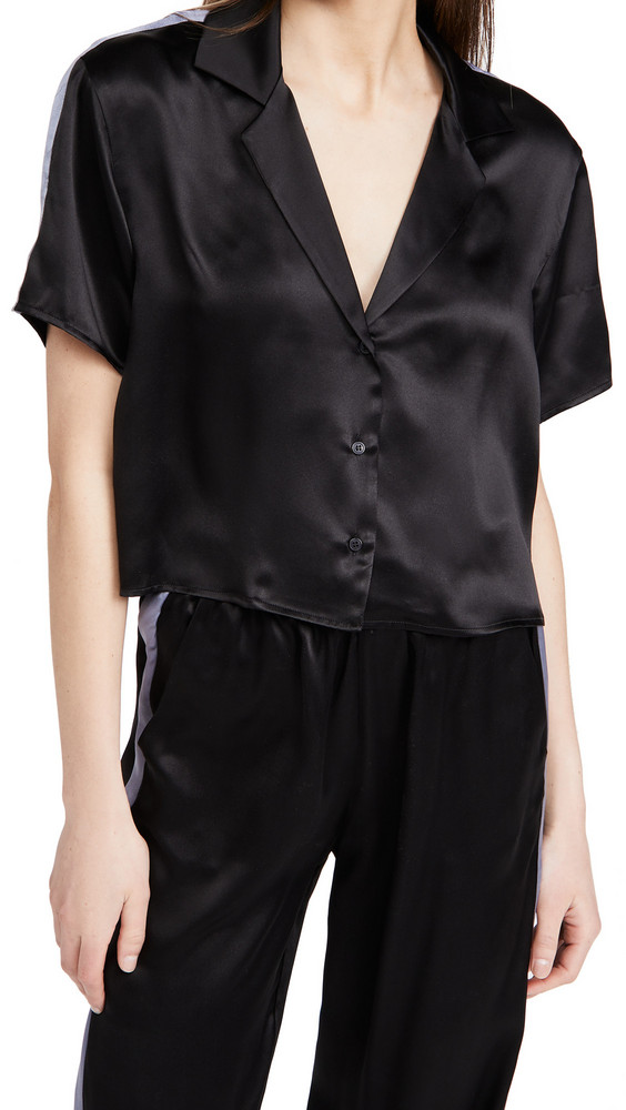 Amanda Uprichard Jaelyn Top in black