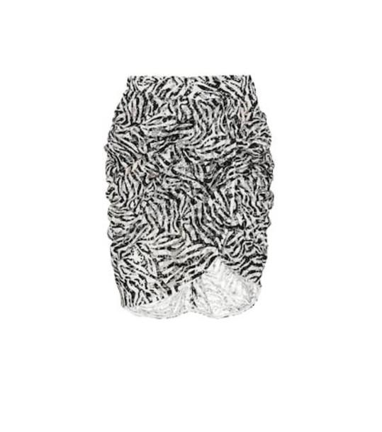 Dundas Lace miniskirt in black