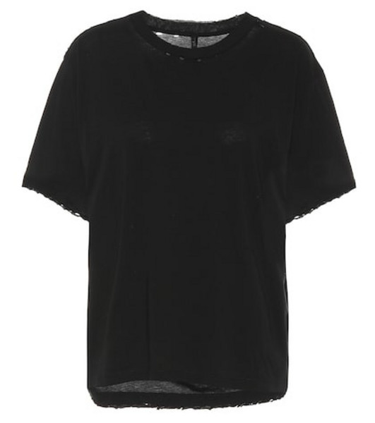 Unravel Cotton T-shirt in black