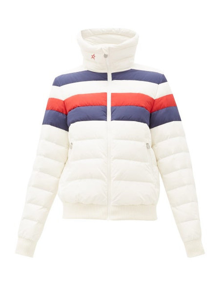 Perfect Moment - Queenie Down Filled Jacket - Womens - White Multi
