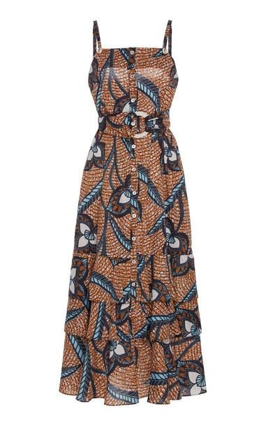 Figue Marina Cotton Dress in multi