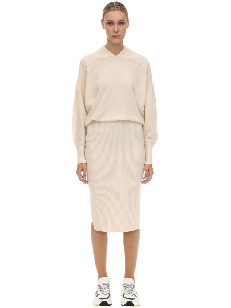 SPORTMAX Cashmere Knit Midi Dress