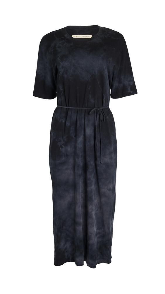 Raquel Allegra Belted Tie Dress TD in black