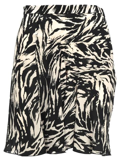 N.21 N21 Zebra Print Mini Skirt