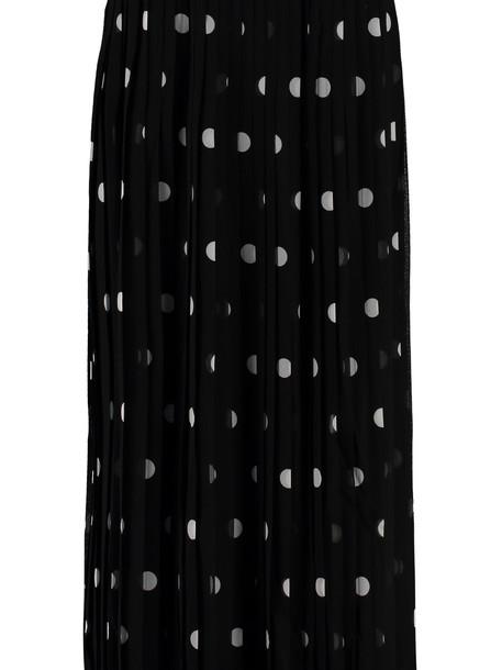 Zimmermann Polka-dot Print Pleated Skirt