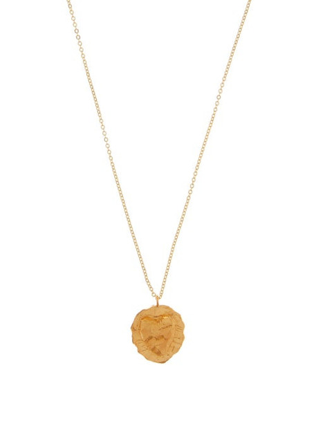 Elise Tsikis - Travia 18kt Gold-plated Necklace - Womens - Gold