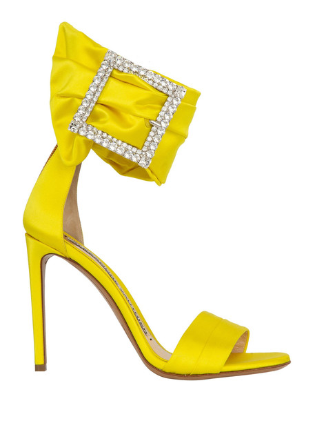 Alexandre Vauthier Sandals in yellow