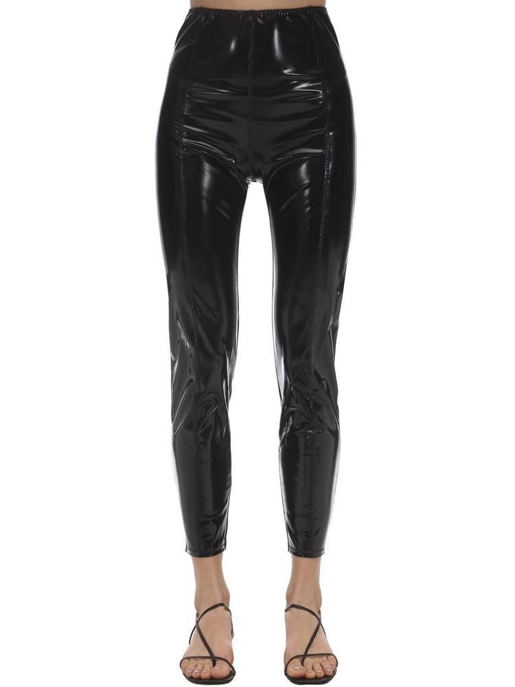 LISA MARIE FERNANDEZ Karlie Nylon Blend Leggings in black