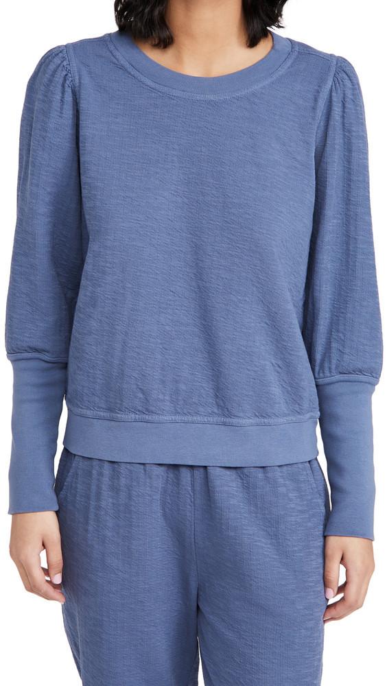 Apiece Apart Olimpio Sweatshirt in chambray