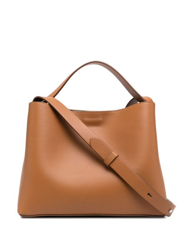 Aesther Ekme mini Sac leather tote bag in brown