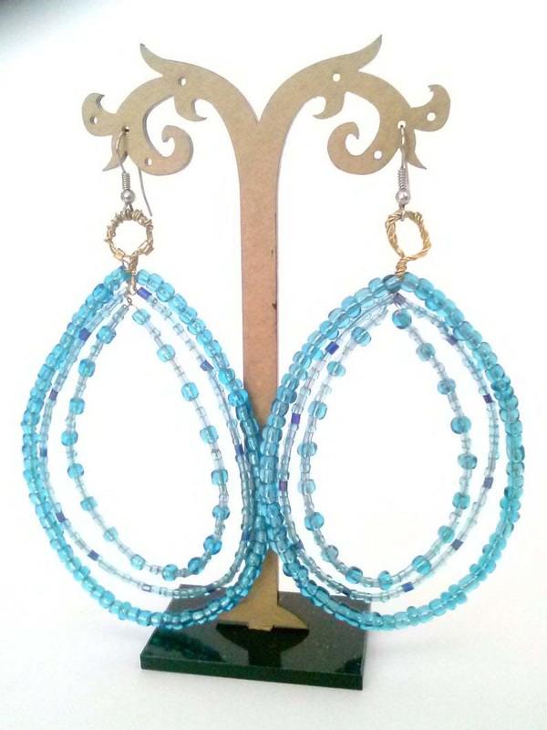 jewels earrings glass bead earrings glass beaded earrings big earrings turquoise turquoise jewelry turquoise earrings bead earings beaded earrings glass bead jewelry teardrop earrings