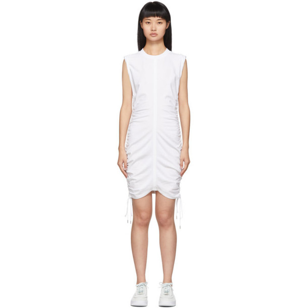 alexanderwang.t White Wash and Go Side Tie Dress
