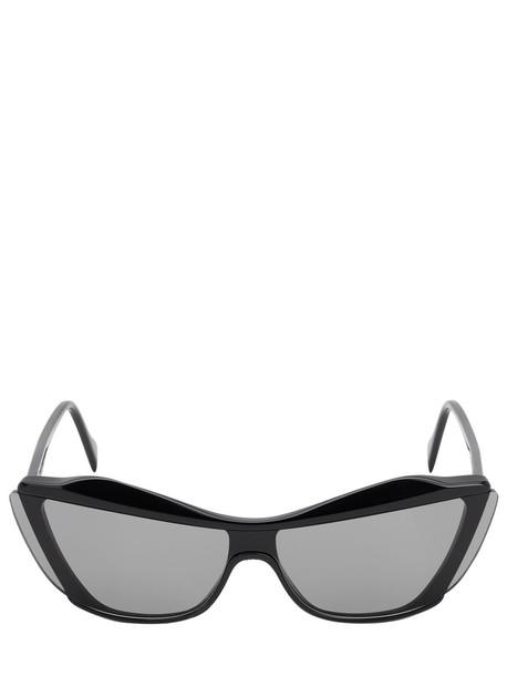 ANDY WOLF Gretl Cat-eye Acetate Sunglasses in black