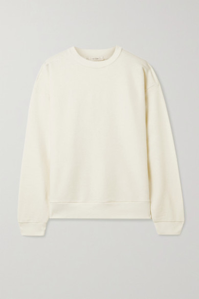The Row - Carlo Cotton And Cashmere-blend Sweatshirt - Cream
