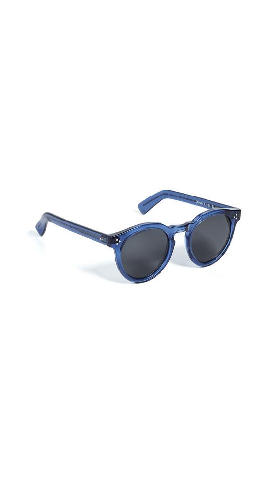 Illesteva Leonard II Sunglasses in cobalt