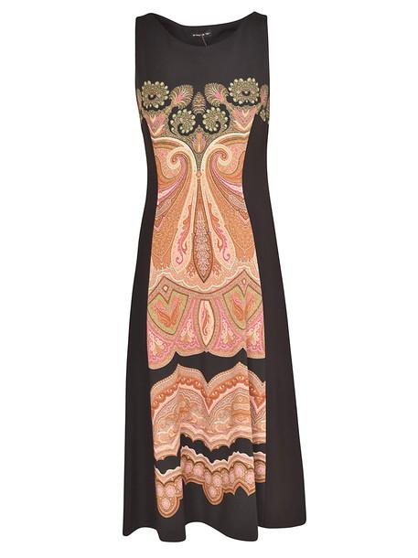 Etro Sleeveless Dress in nero