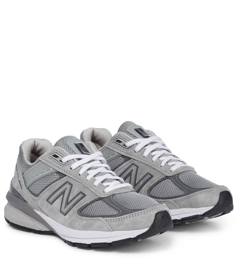 New Balance Made in US 990v5 paneled sneakers in grey