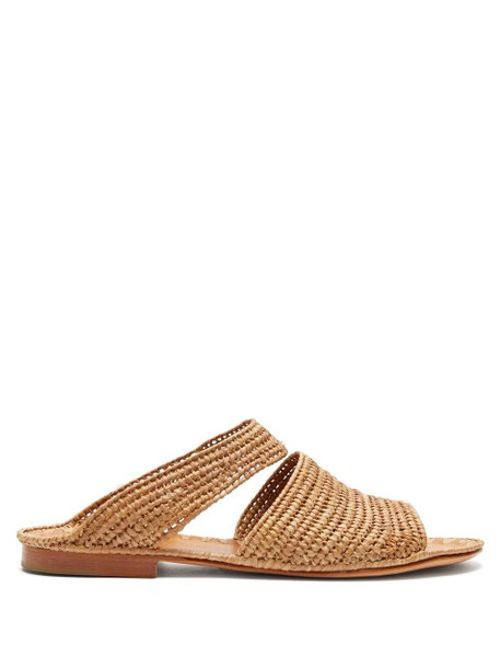 Carrie Forbes - Ahmed Raffia Sandals - Womens - Tan