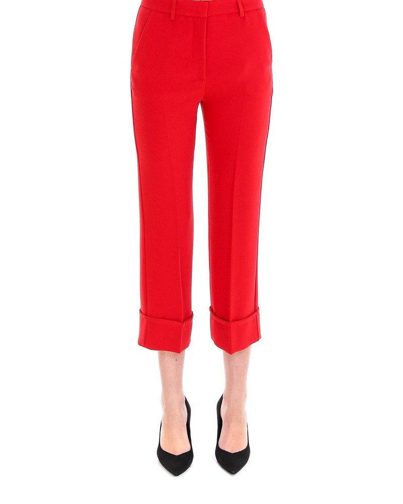 L'Autre Chose Trousers in red