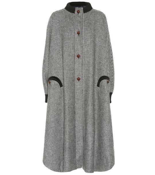 Blazé Milano Drifter wool coat in grey