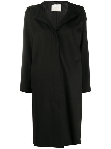 Mackintosh Chryston hooded coat in black