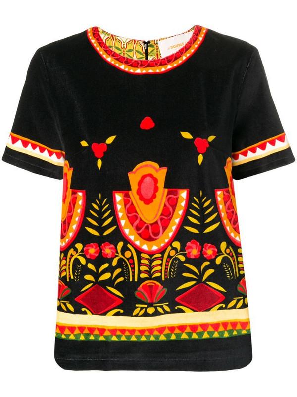 La Doublej Jazzy T-shirt in black