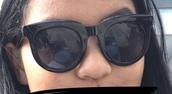 sunglasses,black sunglasses round